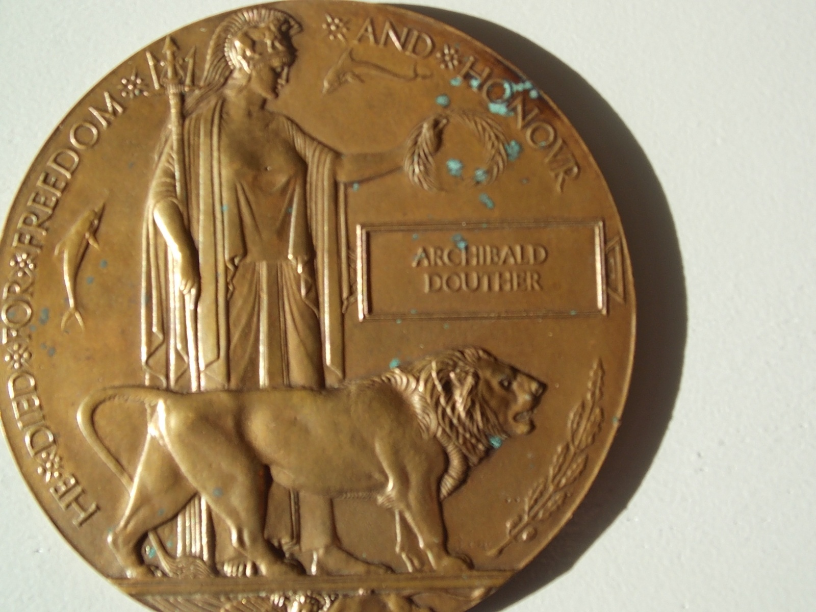 World War One Death Penny - The Abingdon Collection