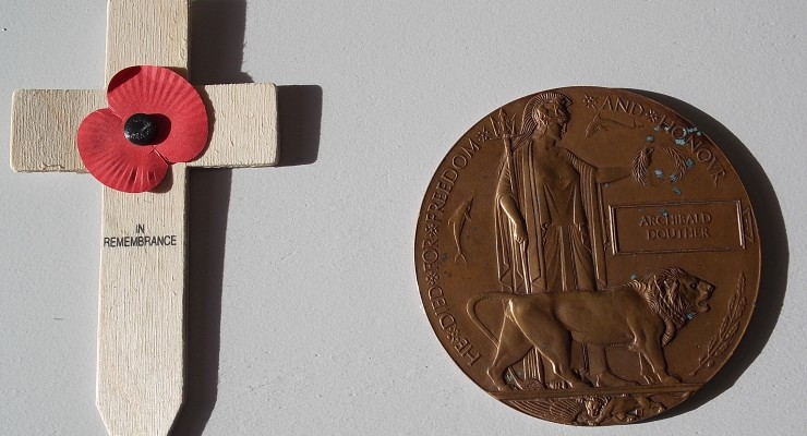 World War One Death Penny - The Abingdon Colection